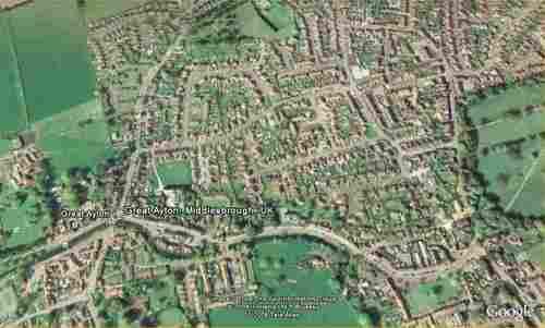 Great-Ayton-Map